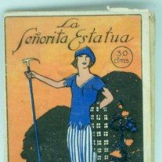 Livres anciens: NOVELA DE HOY Nº 11 LA SEÑORITA ESTATUA CRISTOBAL DE CASTRO ED SUCESORES RIVADENEYRA 1922. Lote 23797540