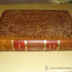 Libros antiguos: 1879 OBRAS DE CERVANTES PUBLICADAS POR LA B. CIENTIFICO-LITERARIA CUATRO TOMOS EN UN VOLUMEN. Lote 25497864