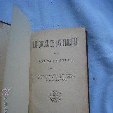 Libros antiguos: 1930.ROSINA FARESTIER: LA COCINA DE LAS FAMILIAS. Lote 26759161