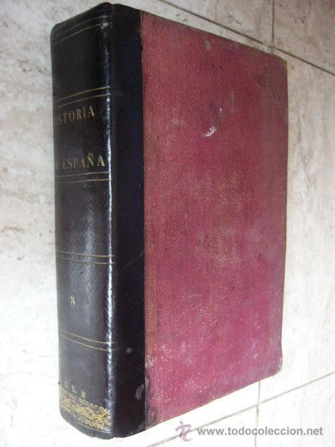 HISTORIA GENERAL DE ESPAÑA. PADRE JUAN DE MARIANA. TOMO VIII + APENDICES. MADRID, 1869. (Libros Antiguos, Raros y Curiosos - Historia - Otros)