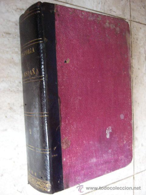 HISTORIA GENERAL DE ESPAÑA. PADRE JUAN DE MARIANA. TOMO II. MADRID, 1867. 1240 PP. (Libros Antiguos, Raros y Curiosos - Historia - Otros)