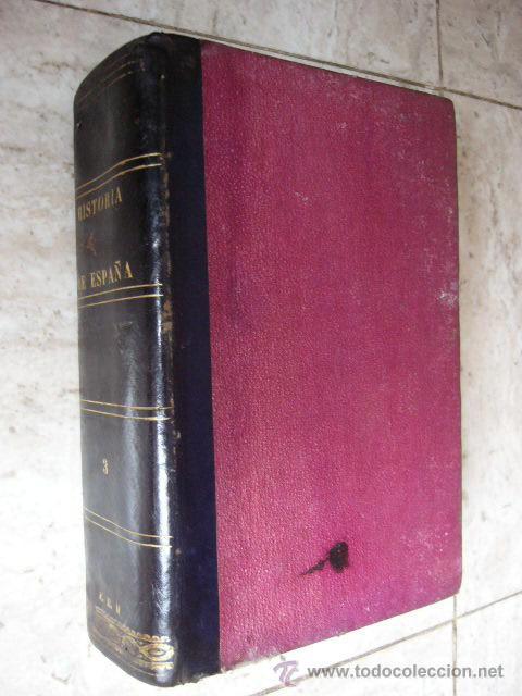 HISTORIA GENERAL DE ESPAÑA. PADRE JUAN DE MARIANA. TOMO III. MADRID, 1867. 1355 PP. (Libros Antiguos, Raros y Curiosos - Historia - Otros)