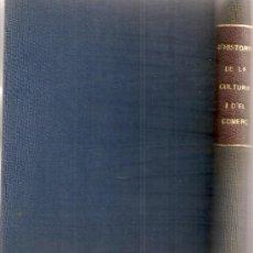 Libros antiguos: MANUAL D' HISTORIA DE LA CULTURA / J. LLEONART. BCN : BARCINO, 1928.+ RESUM D' HISTORIA DEL COMERÇ /. Lote 23980578