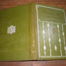 Libros antiguos: R. TURRO ORIGENS DEL CONEIXEMENT LA FAM (VOLUM II) BARCELONA 1912 SOCIETAT CATALANA D'EDICIONS. Lote 24158114