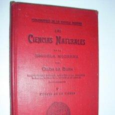 Libros antiguos: 1901 LAS CIENCIAS NATURALES EN LA ESCUELA MODERNA ODON DE BUEN TOMO V LAS EDADES DE LA TIERRA. Lote 24174901