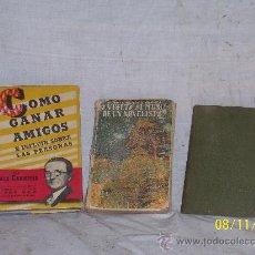 Libros antiguos: LIBRO,LOTE DE TRES VOLUMENES ANTIGUOS. Lote 24390658