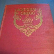 Libros antiguos: TAQUIGRAFIA GREGG.- 1923. Lote 26372340