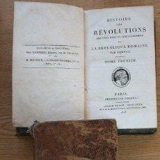 Libros antiguos: HISTOIRE DES RÉVOLUTIONS ARRIVÉES DANS LE GOUVERNEMENT DE LA RÉPUBLIQUE ROMAINE. . Lote 24586424