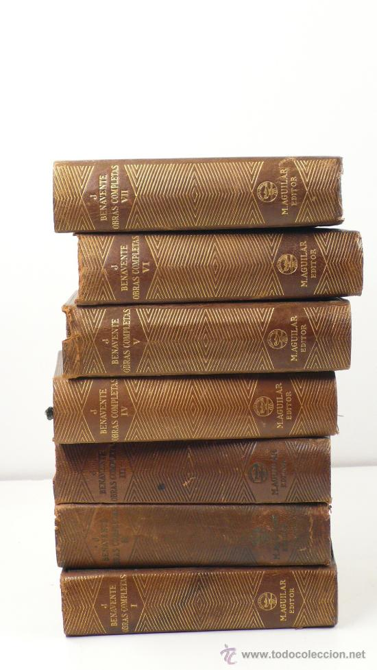 Libros antiguos: Benavente, Obras completas, 7 volúmenes, Agulilar ed. 1940. - Foto 3 - 24565728