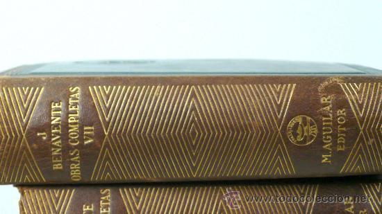 Libros antiguos: Benavente, Obras completas, 7 volúmenes, Agulilar ed. 1940. - Foto 2 - 24565728