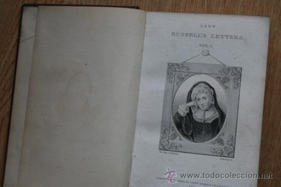 LETTERS. RUSSELL'S (LADY) (Libros Antiguos, Raros y Curiosos - Otros Idiomas)