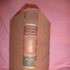 Libros antiguos: MEMORIAS DE LA ACADEMIA DE BUENAS LETRAS DE BARCELONA - AÑO 1868 - LAMINAS.. Lote 27451234