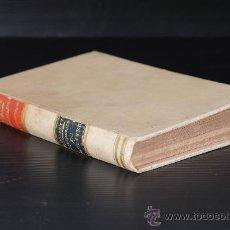 Libros antiguos: LIBRO ANIMAUX DOMESTIQUES PAR LEFOUR. CALENDRIER DU METAYER PAR DAMAURETTE. Lote 25094369