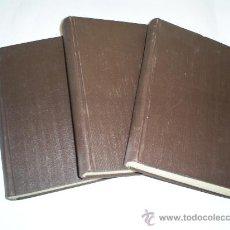 Libros antiguos: CURSO DE ELECTROTECNIA 3 TOMOS JOSÉ MORILLO Y FARFÁN NUEVAS GRÁFICAS, 1935. -1936 RM49837. Lote 26534411