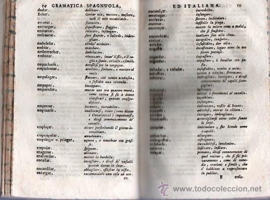 Libros antiguos: GRAMATICA ESPAÑOLA E ITALIANA. VENECIA 1742 / GRAMATICA SPAGNOULA ED ITALIANA. FRANCIOSINI - Foto 4 - 26799106