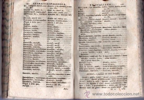 Libros antiguos: GRAMATICA ESPAÑOLA E ITALIANA. VENECIA 1742 / GRAMATICA SPAGNOULA ED ITALIANA. FRANCIOSINI - Foto 3 - 26799106