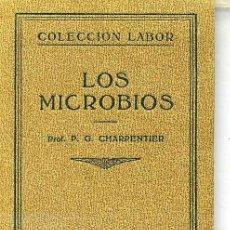 Libros antiguos: LOS MICROBIOS (1931) EDITORIAL LABOR. Lote 26809661