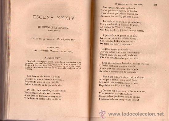 Libros antiguos: EL DRAMA UNIVERSAL DE DON RAMON DE CAMPOAMOR AÑO 1873 - Foto 4 - 25380930