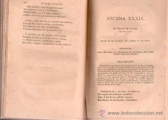 Libros antiguos: EL DRAMA UNIVERSAL DE DON RAMON DE CAMPOAMOR AÑO 1873 - Foto 3 - 25380930