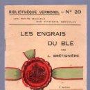 Libros antiguos: LES ENGRAIS DU BLE POR L. BRETIGNIERE. Lote 25405418