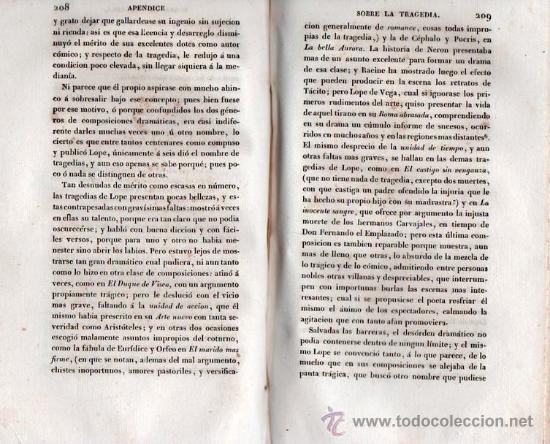 Libros antiguos: OBRAS LITERARIAS DE D. FRANCISCO MARTINEZ DE LA ROSA. TOMO SEGUNDO 1827 - Foto 3 - 26851203