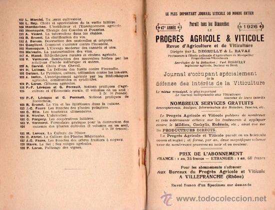 Libros antiguos: SECHAGE DES FRUITS ET DES LEGUMES POR H.SIBILON - Foto 5 - 25403120