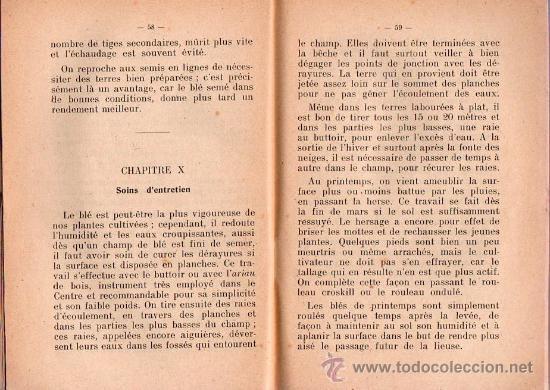 Libros antiguos: LE BLE POR A. PAIREMAURE - Foto 2 - 25405757