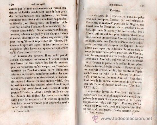Libros antiguos: RHETORIQUE DE JOS - VICT. LE CLERC AÑO 1850 - Foto 2 - 25424924