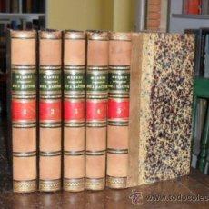 Libros antiguos: OEUVRES COMPLETES DE J.RACINE.5 TOMOS.OBRA COMPLETA. Lote 25502207