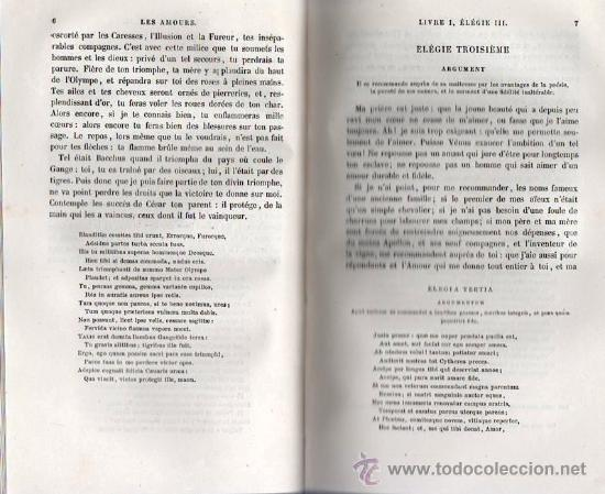 Libros antiguos: OVIDIO, EL ARTE DE AMAR. EN FRANCES 1860 - Foto 3 - 25596537