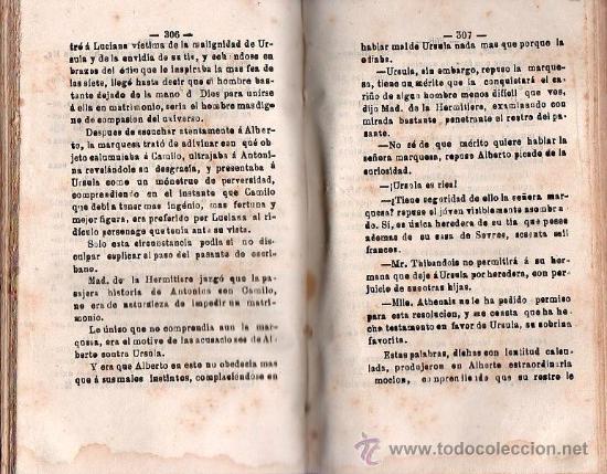 Libros antiguos: LA MAS FEA DE LAS SIETE POR VICTOR PERCEVAL AÑO 1867. SEVILLA IMPRENTA LA ANDALUCIA - Foto 3 - 25705144