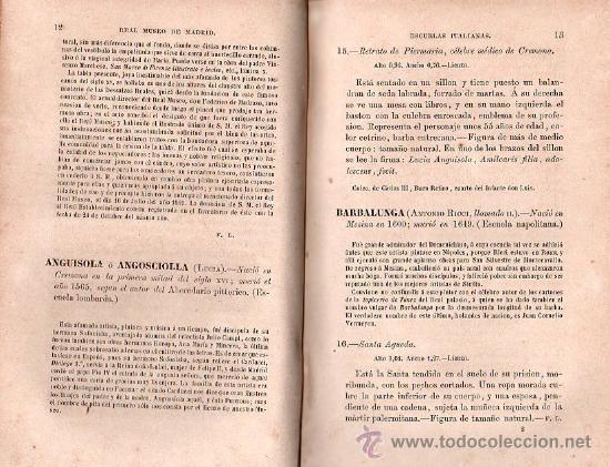 Libros antiguos: CATALOGO DEL MUSEO DEL PRADO. 1872 - PEDRO DE MADRAZO - Foto 4 - 27208035
