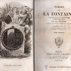Libros antiguos: FABULAS DE LA FONTAINE. PARIS 1828 - 2 TOMOS. Lote 27208044