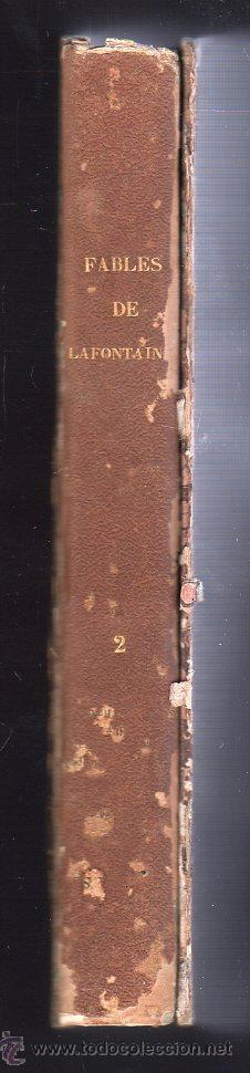 Libros antiguos: FABULAS DE LA FONTAINE. PARIS 1828 - 2 TOMOS - Foto 7 - 27208044