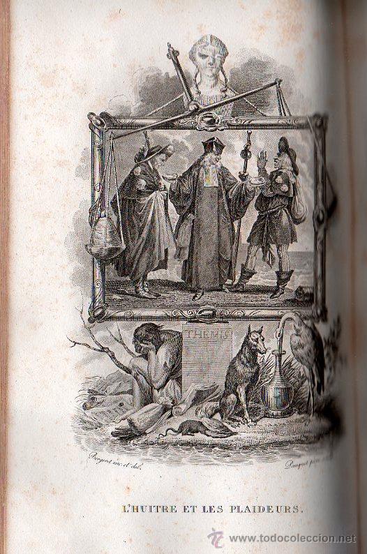 Libros antiguos: FABULAS DE LA FONTAINE. PARIS 1828 - 2 TOMOS - Foto 13 - 27208044