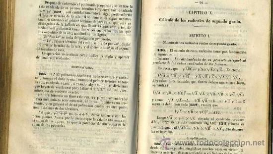 Libros antiguos: FERNÁNDEZ Y CARDIN : ARITMÉTICA Y ÁLGEBRA (1862) - Foto 2 - 27616277