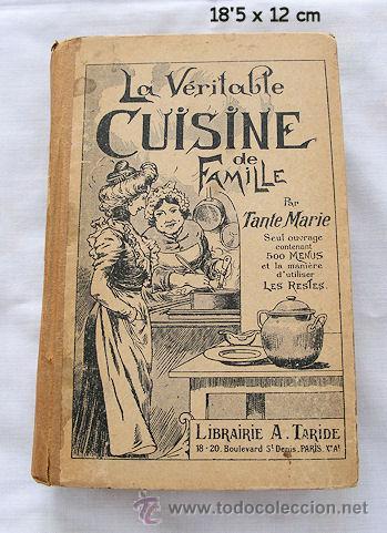 libro de cocina frances antiguo la verdadera co comprar