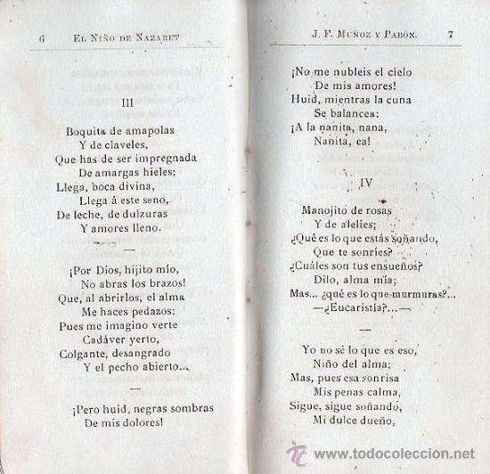 Libros antiguos: EL NIÑO DE NAZARET. 1899 - SEVILLA, ROMANCERO - Foto 7 - 25877881