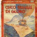 Libros antiguos: JULIO VERNE : CINCO SEMANAS EN GLOBO (MOLINO, 1936) TAPA DURA. Lote 25905627