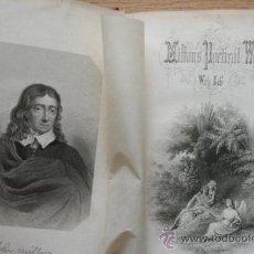 Libros antiguos: THE POETICAL WORKS OF... WITH LIFE. MILTON (JOHN). Lote 25929166