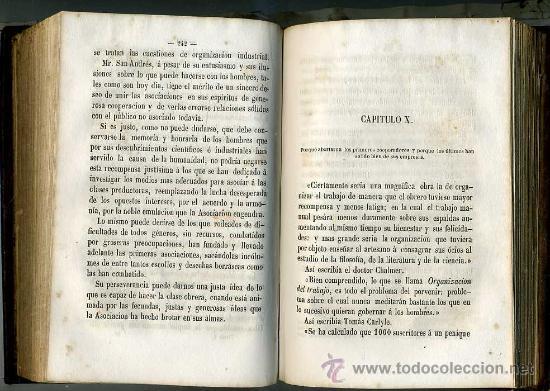 Libros antiguos: GARRIDO : HISTORIA DE LAS ASOCIACIONES OBRERAS EN EUROPA TOMO I (1864) - Foto 3 - 27299977