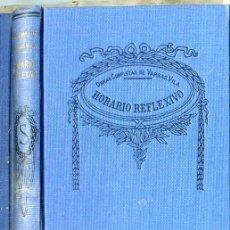 Libros antiguos: VARGAS VILA : HORARIO REFLEXIVO. Lote 25949445