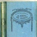 Libros antiguos: VARGAS VILA : EL HUERTO DEL SILENCIO. Lote 25949497