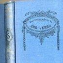 Libros antiguos: VARGAS VILA : ARS-VERBA. Lote 25949767