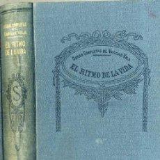 Libros antiguos: VARGAS VILA : EL RITMO DE LA VIDA. Lote 25949862
