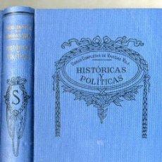 Libros antiguos: VARGAS VILA : HISTÓRICAS Y POLÍTICAS. Lote 25950013