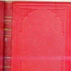Libros antiguos: FERNAN CABALLERO : CLEMENCIA TOMO I - (1880) . Lote 25954170