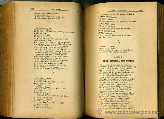 Libros antiguos: SALVADOR RUEDA : POESÍAS COMPLETAS (1912) - Foto 4 - 25954467