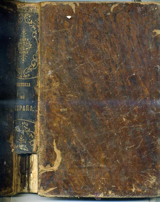 GEBHARDT : Hª GENERAL DE ESPAÑA Y DE SUS INDIAS TOMO I (1864) CON DIECISIETE GRABADOS (Libros Antiguos, Raros y Curiosos - Historia - Otros)