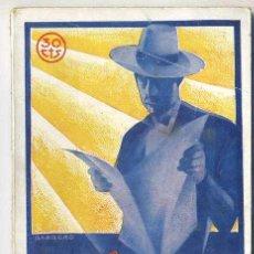 Libros antiguos: CRISTÓBAL DE CASTRO : LOS HOMBRES DE HIERRO - LA NOVELA MUNDIAL, 1927. Lote 26024585